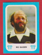 Scotland Archie Gemmill Nottingham Forest *** ERROR STICKER ***